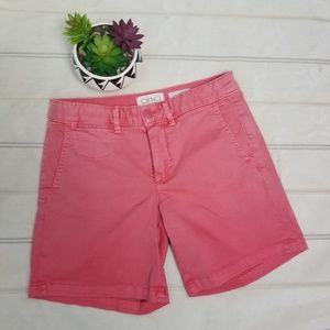 Anthropologie CHINO pink shorts size 25 -C9